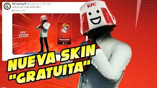 "NEW SKIN ""FREE"" WILL BE COMING FORTH IN FORTNITE COLLABORATION WITH KFC"