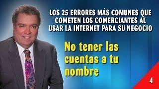 Error 04 - No Tener Las Cuentas A Tu Nombre