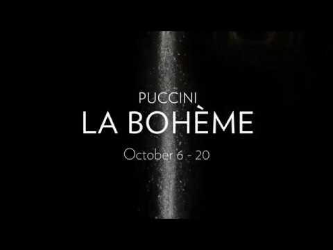 Lyric Opera of Chicago presents Puccini's LA BOHÈME// October 6 -20