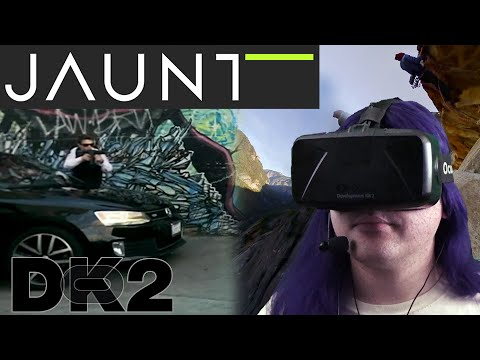 Oculus Rift DK2 - Jaunt (live-action 360° videos) (fixed)