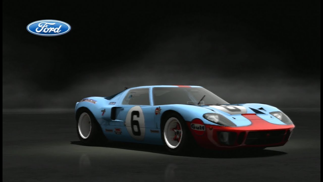 Laguna Seca Raceway >> Gran Turismo 5: Ford GT40 Race Car ´69 [Laguna Seca Raceway] - Rolezinho - YouTube