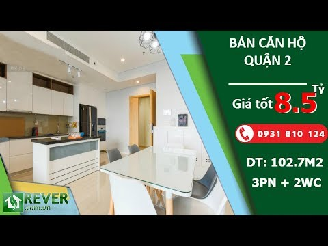 Bán căn hộ Sarimi Sala Đại Quang Minh, diện tích 103m2 với 3 phòng ngủ cao cấp | Rever