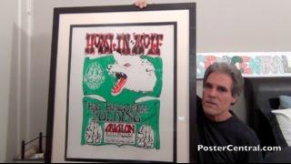 FD-27 Howlin' Wolf & Janis Joplin 1966 Pre-Show Litho by Mouse & Kelley