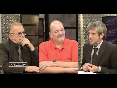 Antonio Rico y Marcelo Garrido con Maxi Romero