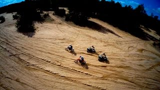 Quads vs Dirt bikes // Can am Renegades | RRXtreme
