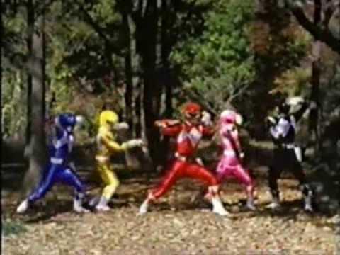 Go, Go, Power Rangers Music Video 1