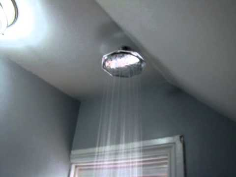 How To Add A Rainfall Shower Head Existing In Under 1 Hour For Less Then 100