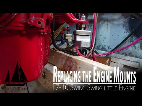 17- 10_Replacing the Engine Mounts (sailing syZERO)