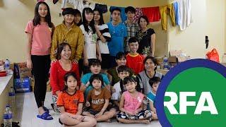 Ba gia đình vượt biên lần hai bị giam tại Jakarta | © Official RFA Video
