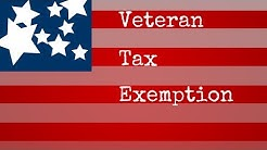 Veteran Tax Exemption - 100 disabled veteran benefits