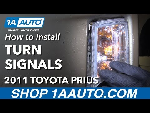 How to Install Replace Turn Signal Assembly 2011 Toyota Prius