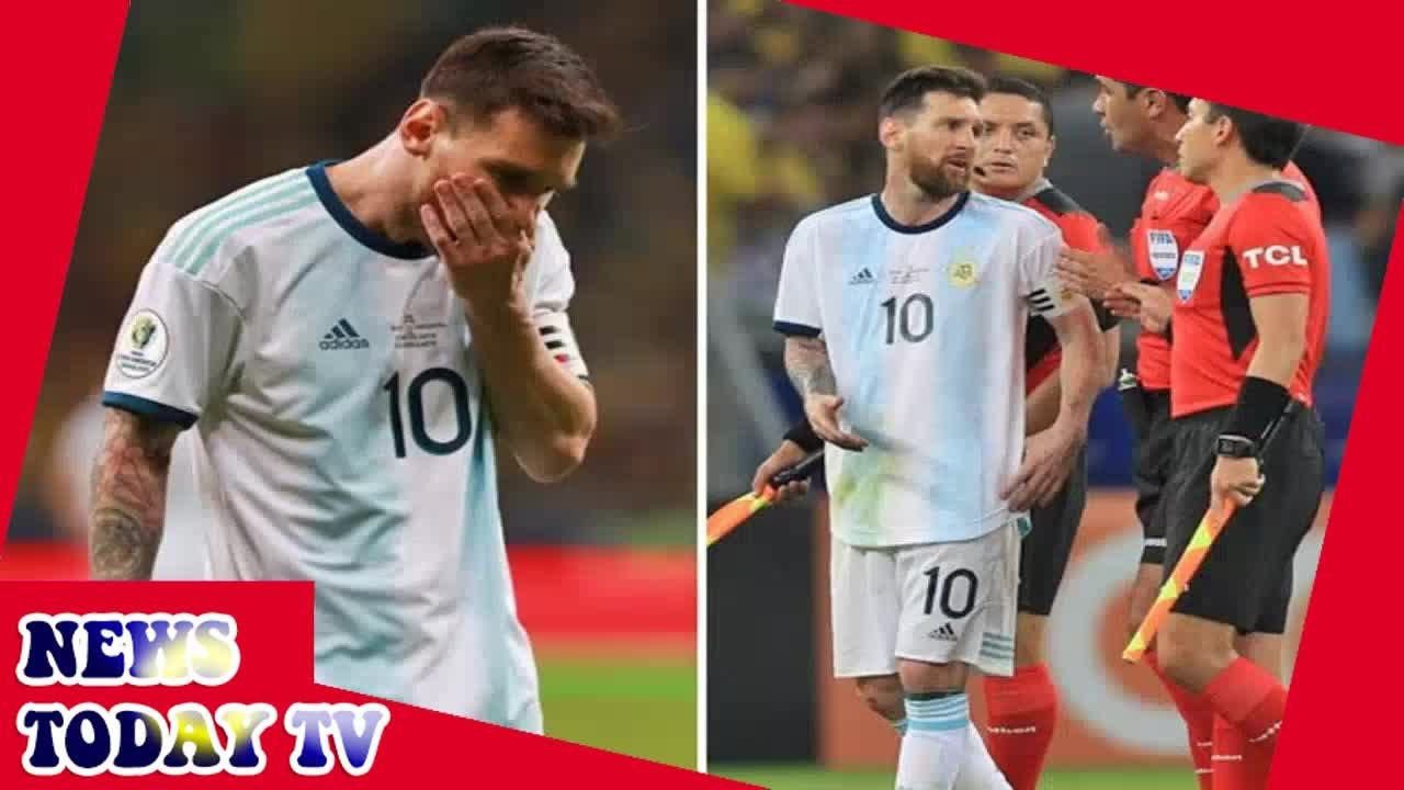 Brazil vs Argentina result: Lionel Messi rages at 'bulls***' for not using VAR in Copa America exit