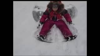 Снег летом Снежный ангел летом Снежная бабочка   Snow in summer Snow in summer snow angel butterfly