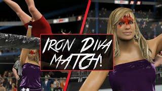 WWE 2K15 Iron Diva Match - Lilian Garcia vs Lana (PC Mod)