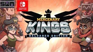 Mercenary Kings Reloaded Nintendo Switch | A Metal Slug Action RPG?! - Spawn Wave Plays
