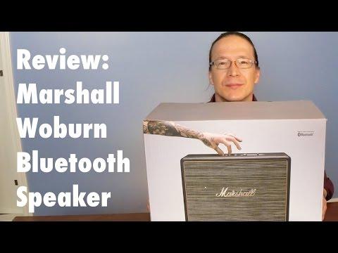 Review: Marshall Woburn Bluetooth Speaker