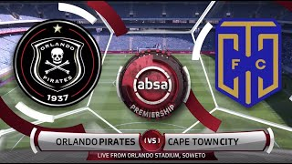 Absa Premiership | Orlando Pirates v Cape Town City | Highlights