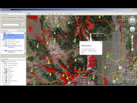 Map Scouting With Google Earth - Colorado Hunting Data