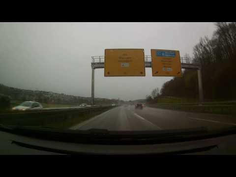 [D] B10 Stuttgart (Germany) Driving From Esslingen-Sirnau To Plochingen