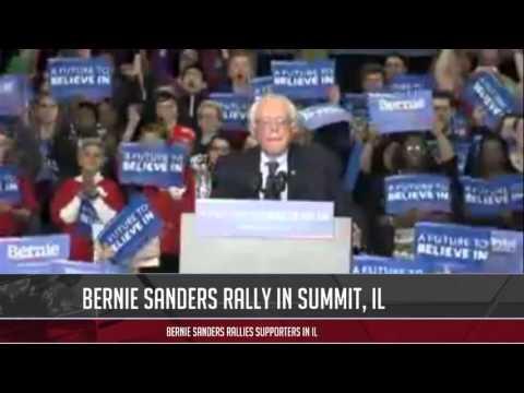 Bernie Sanders rally in Summit, IL 3-11-2016