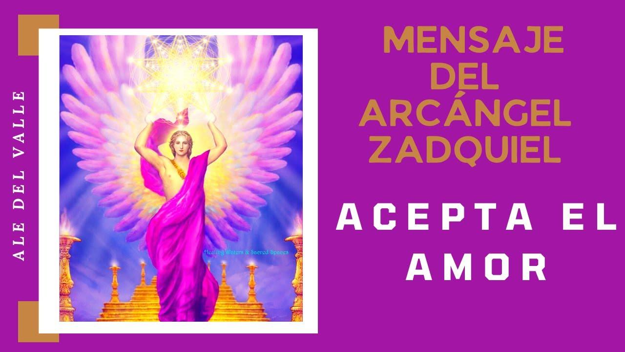 🌟ACEPTA EL AMOR 🧘 AGRADECE LA VIDA ♥ MENSAJE DE LOS ÁNGELES  para La Humanidad HOY ARCÁNGEL ZADQUIEL