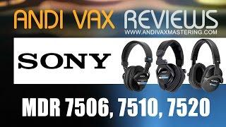 AVR 023 - Sony MDR 7506, MDR 7510, MDR 7520