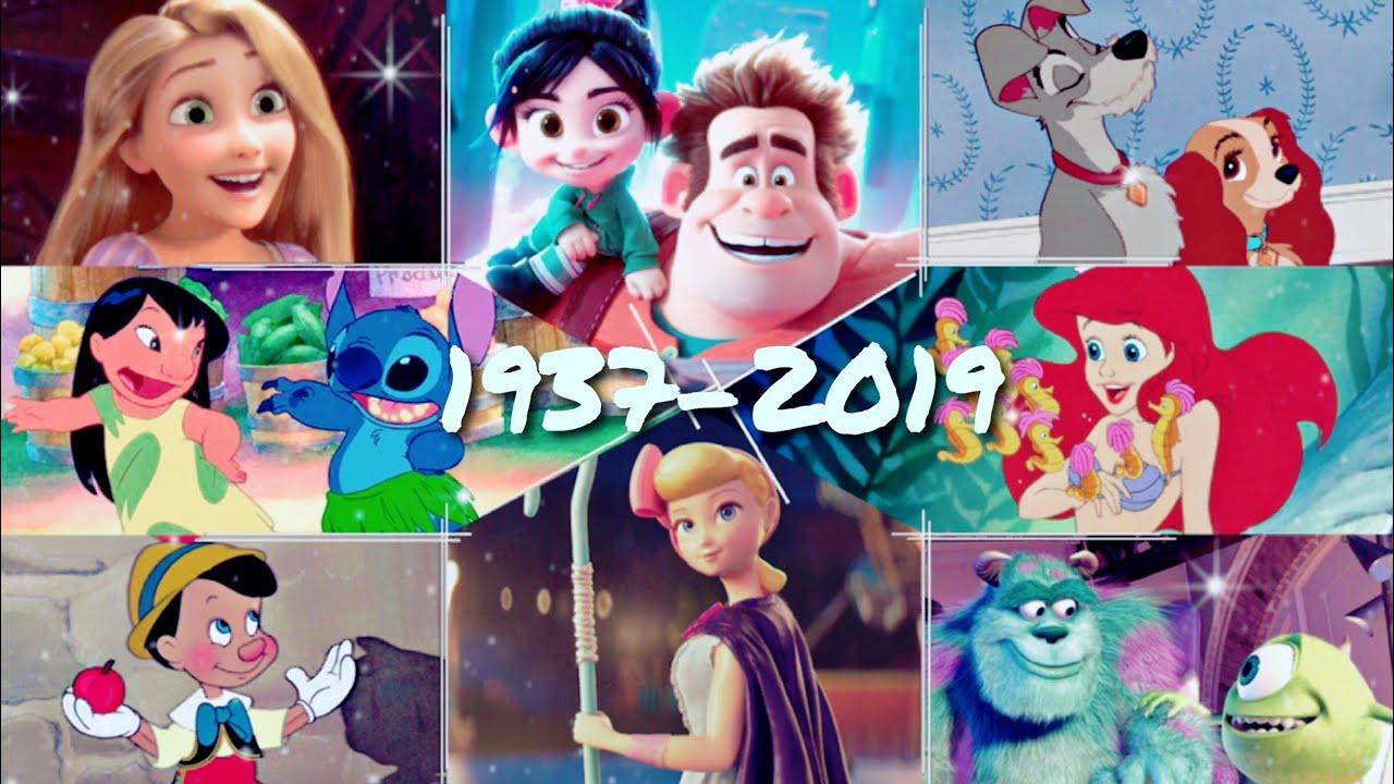 1937 - 2019 || disney & pixar tribute