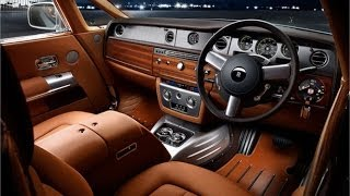 Car Interior Design: Rolls-Royce Leathershop