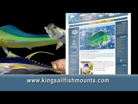 King Sailfish Mounts