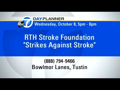 ABC 7 RTH Stroke Foundation 7 Day Planner