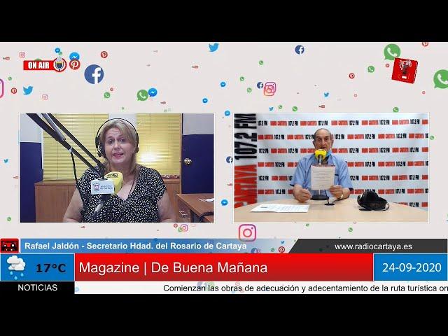 Radio Cartaya | Novena en honor a Ntra. Sra. del Rosario