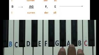 All to Jesus I surrender keyboard lesson