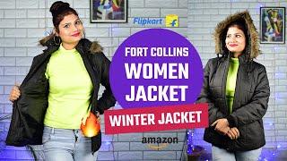 Flipkart Amazon Jacket Review Fort Collins Winter Women Jacket Online Shopping Ladies Jacket