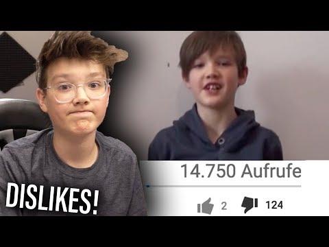 Mein MEIST GEDISLIKTES Video 😩 (mit 11 jahren...)