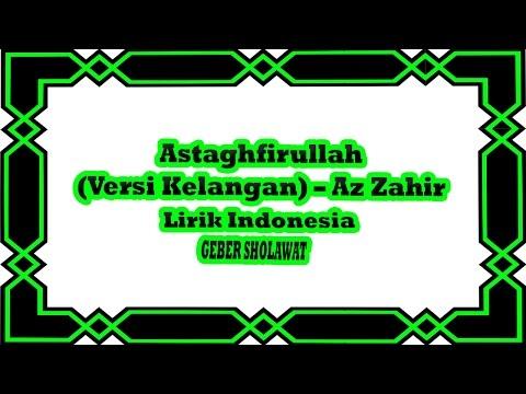 Astaghfirullah - Az Zahir Versi Kelangan Lirik Indonesia Voc.Yan Lucky Aditya