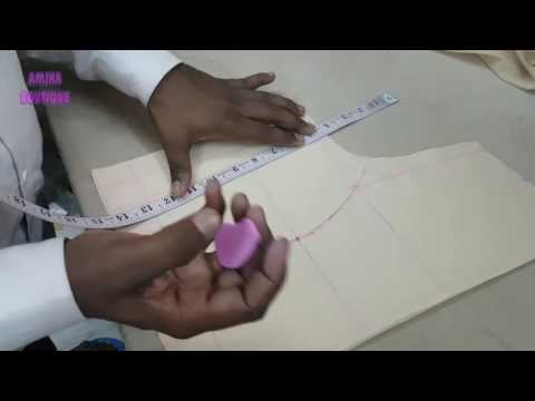 Princess Cut Blouse | Pad Blouse | Katori Blouse Cutting