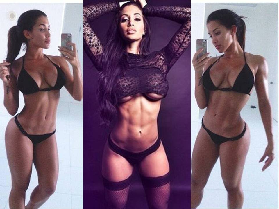 ABS: Claudia Sampedro Gym Workout Routines for Abs - YouTube