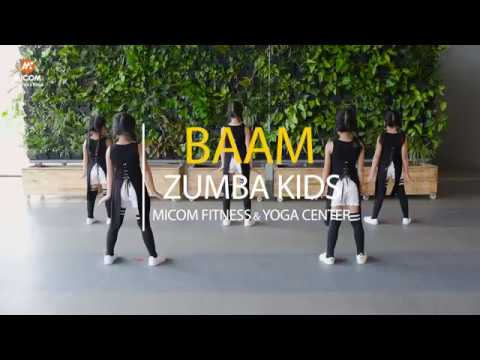 BAAM - MOMOLAND(모모랜드) - Zumba Kids | Micom Fitness & Yoga