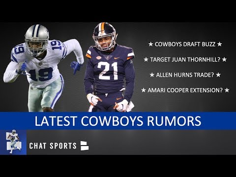 Cowboys Rumors On Drafting Juan Thornhill, Allen Hurns Trade & Amari Cooper Contract Extension?