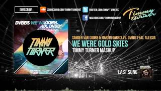 Sander Van Doorn Martin Garrix Vs DVBBS Feat Aleesia We Were Gold Skies Timmy Turner Mashup