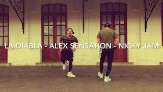 La Diabla  Alex Sensation-nicky Jam  Grupozumbaz2