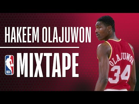 I never thought I would find basketball Sexy until I watched Hakeem Olajuwon