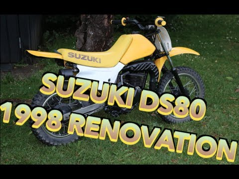Suzuki DS80 1998 renovation