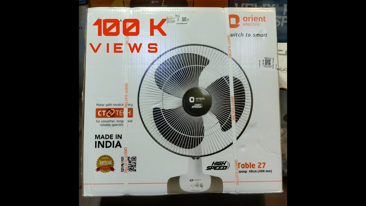 How to fix orient table fan and unboxing youtube how to fix orient table fan and unboxing greentooth Choice Image