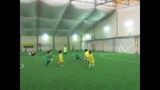 【U-7サッカー】シンタロウ6歳  4試合9ゴールで優勝&得点王に! Shintaro 6Y/O soccer boy