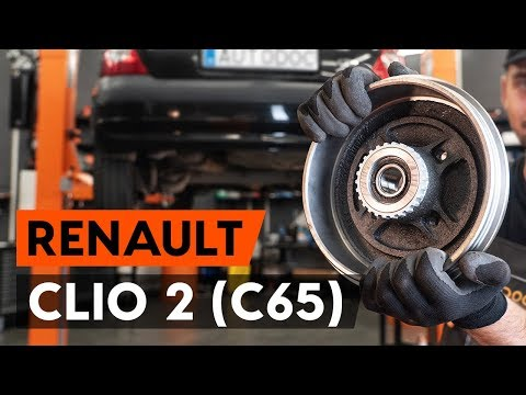 Как заменить подшипник ступицы заднего колеса на RENAULT CLIO 2 (C65) [ВИДЕОУРОК AUTODOC]