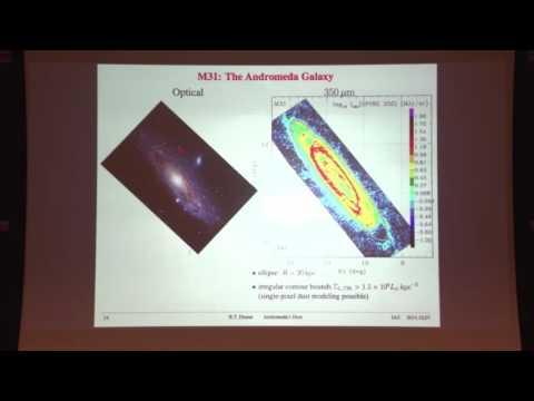 Andromeda's Dust - Bruce Draine