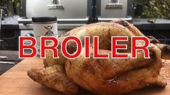 Broiler grillen --- Klaus grillt