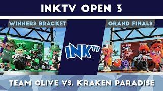 Splatoon 2 - InkTV Open 3 - Team Olive vs. Kraken Paradise [Grand Finals]