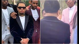 Gervonta Davis Meets Jay Z Gets To Shake Hands Like Practiced